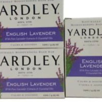 Yardley English Lavender Soap 120g Bar X3