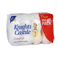 Knights Castile Soap 4x90g