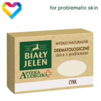 Bialy Jelen Hypoallergenic Bar Soap With ZINC For Problematic Skin 125g