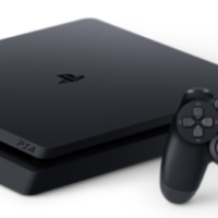 Sony PlayStation PS4 Slim 500GB Console - Black.