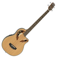 Roundback Electro Acoustic Bass Guitar by Gear4music