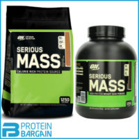 Optimum Nutrition Serious Mass 2.72kg/5.4kg Weight Gainer Mass Protein Powder
