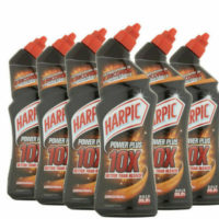 6 x 750ML HARPIC Power Plus Original 10x Better Than Bleach Limescale Toilets