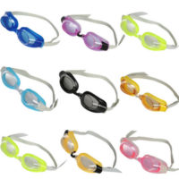Unisex Children Advanced Swimming Goggles With Ear-Plugs And Nose-Clip