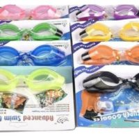 Anti Fog Swimming Goggles & UV For Men Women Adult Junior Kids Nose Ear Plugs