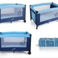 H20 Baby Crib Foldable Playpen Portable Infant Travel Bassinet Bed Cot Bed