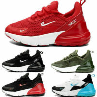 Youth Kids Boys Girls School Trainers Sports Running Shoes Mesh UK Size 11 to 3