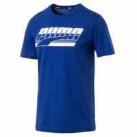 Puma Sport Mens Rebel Tee Lightweight Regular Fit Ribbed Crew Cotton T-Shirt