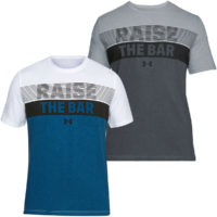 Under Armour Mens Raise The Bar SS Sports Gym Performance Training T Shirt