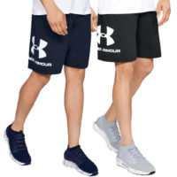 Under Armour Mens Sportstyle Logo Cotton Sweat Shorts