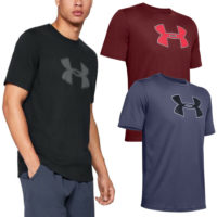 Under Armour Mens Big Logo Super Soft Short Sleeve T Shirt