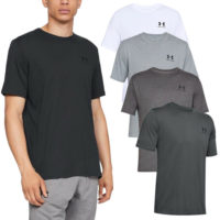 Under Armour Mens Sportstyle Left Chest Short Sleeve T Shirt