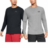Under Armour Mens Sportstyle Left Chest Wicking Training Top