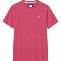 New Crew Clothing Mens Classic T-Shirt in Berry Size S