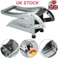 Stainless Steel Blades Chrome Plated Potato French Fry Chipper Chips Cutter UK