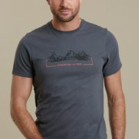 Mountain Warehouse Mens Adventure Is Free Tee - for Everyday Wear