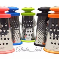 Mini Cheese Grater Nutmeg Stainless Steel Colourful Kitchen Hand Tool - Apollo