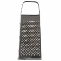 Four Sided Stainless Steel Grater For Cheese/Vegetables Dishwasher Safe