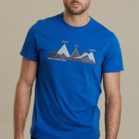 Mountain Warehouse Men World Peaks Tee Tshirt