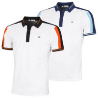 Calvin Klein Mens Shoulder Colour Block SmartTec Polo Shirt 50% OFF RRP