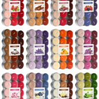 Scented Tea Lights 30 Pack, 14 scents to choose from, 4-5 hours burning time!!!