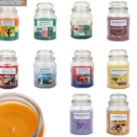 18oz Large Scented Candles In Glass Jar Assorted Fragrance Home Gift Pack Xmas