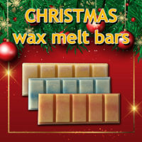 CHRISTMAS Soy Wax Melts Handmade snap bar strong fragrance many scents