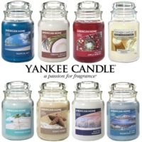Yankee Candle Scented Fragrance Candles American Home 19oz Large Glass Jar 538g