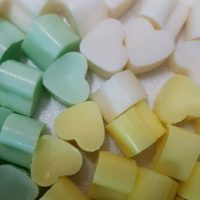 50 Highly Scented Mini Heart Wax Melts dupe type aftershave/perfume inspired