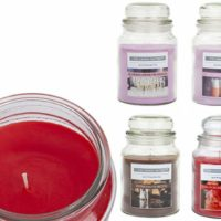 18oz Large Scented Candles In Glass Jar Assorted Fragrance Home Gift Pack