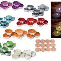 8 HOURS BURNING TIME SCENTED TEALIGHTS CANDLES - Fastest Delivery