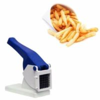 Potato Chipper, Vegetable Cutter, Slicer, Fries With Interchangeable Blades