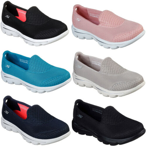 SKECHERS Womens Gowalk Evolution Ultra Air Cooled Cushioned Shoes RRP £62.00